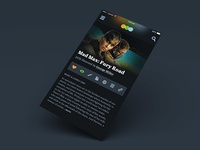 Letterboxd App Concept