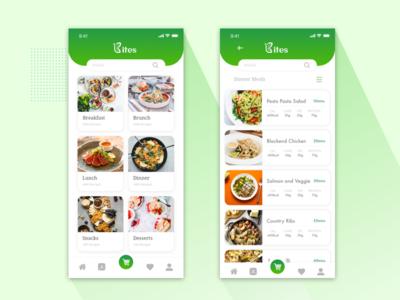 Bites meal customization app