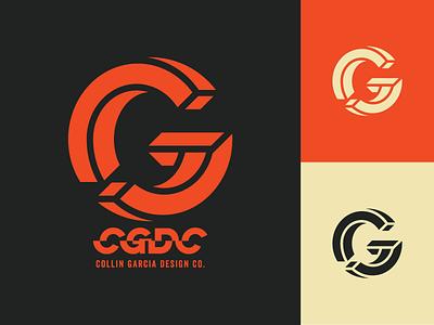 CGDC Mark / Logotype personal branding cgdc blocks vector acronym perspective monogram logotype cg balance optical illusion 3d typography logo