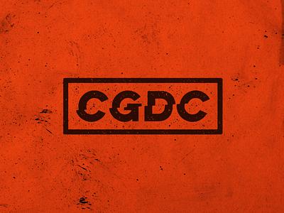 Logotype Grit cg typography grunge dirt personal brand branding black orange texture logotype