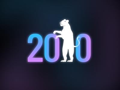 200 followers ❤ 🎉 animation anniversary humanlike subscribe thank you movie jaguar followers gif character illustration branding 200 animals animal logo illustrator design 2020 follow