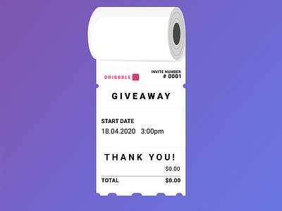 Invite dribbble   Toilet paper ticket 😂 money ticket dribbble invite giveaway toilet paper drawing covid19 covid 2d coronavirus corona paper toilet ui branding illustration illustrator design 2020