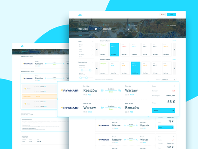 Skyscanner Search Results Redesign Concept ticket destination design ux ui website branding holidays kayak skyscanner web design 7ninjas travel airline booking hotels flights results search search result
