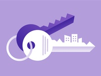 Keys to New Apartment