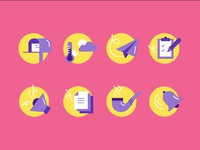 Icons for an article