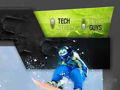 Drib snowboard