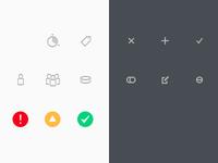 Admin icons