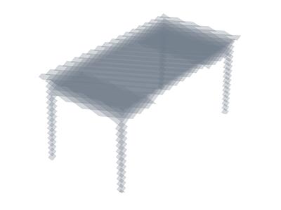 30 degrees –2 3d illustrator stratas opactity