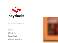 Heydocks Website