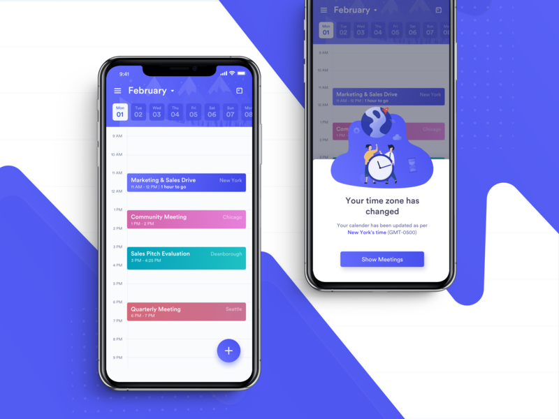 Calzie smart calendar app - Part 2 by Nitya Gupta on Dribbble