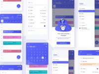 Calzie Smart Calender App UI Kit Freebie
