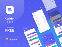 Calzie smart Calendar App UI Kit 🔥