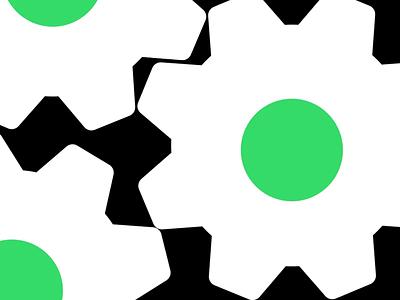 Introducing Leapfrog Engineering logo reveal engineering technology green gears logo animation animation logo