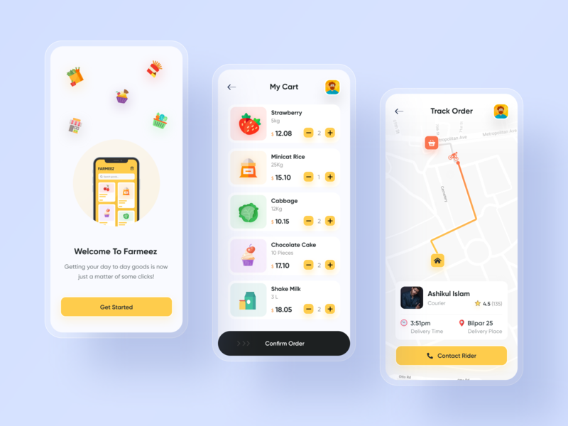 Grocery Store App redesign concept app designers app design popular shot best shot popular design ride sharing app best designer best design grocery app illustration ui design modern design creative design popular trending graphics ios android interface minimal clean new trend dribbble best shot