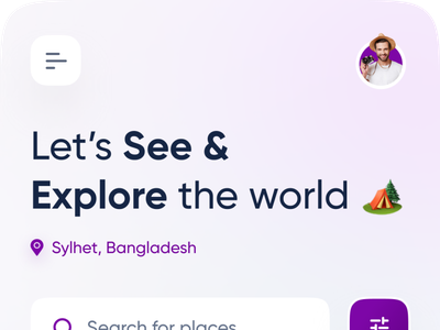 Travel App Exploration ✈️🔥 productdesign popular design top travel app tour travel app design app modern design creative design popular trending graphics minimal clean new trend dribbble best shot