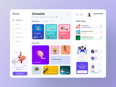 Course Dashboard UI Exploration 🔥❤️ trending 2021 best design webdesign popular shot productdesign dashboard app dashboard design dashboard ui course app course landing page design minimal clean new trend modern design popular trending graphics dribbble best shot