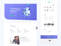 Zenifer - Business and Corporate Homepage Design