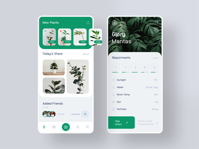 Plant App Exploration flower plant tree minimal trendy graphicsdesign trending design application design designers app design interfacedesign uxui ios app best dribbble best shot modern creative design ecommerce design designer app
