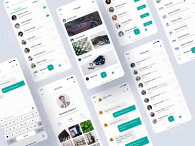 Social App UI Redesign