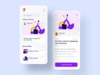 Blog App Exploration