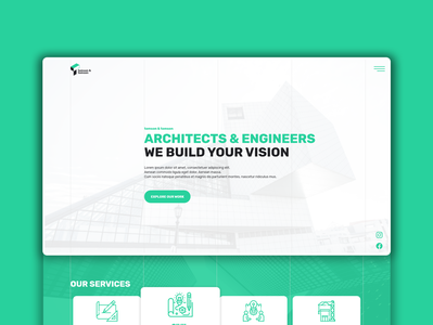 Architecture & Engineering Website // tomson & tomson
