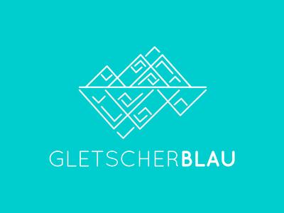 GLETSCHERBLAU Logo Redesign