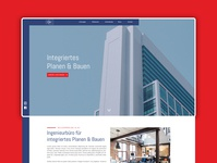 Architecture Website // Construction & Real Estate
