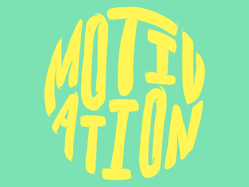 Motivation drawn type lettered letter hand drawn type motivation quote letters lettering typography illustration hand lettering