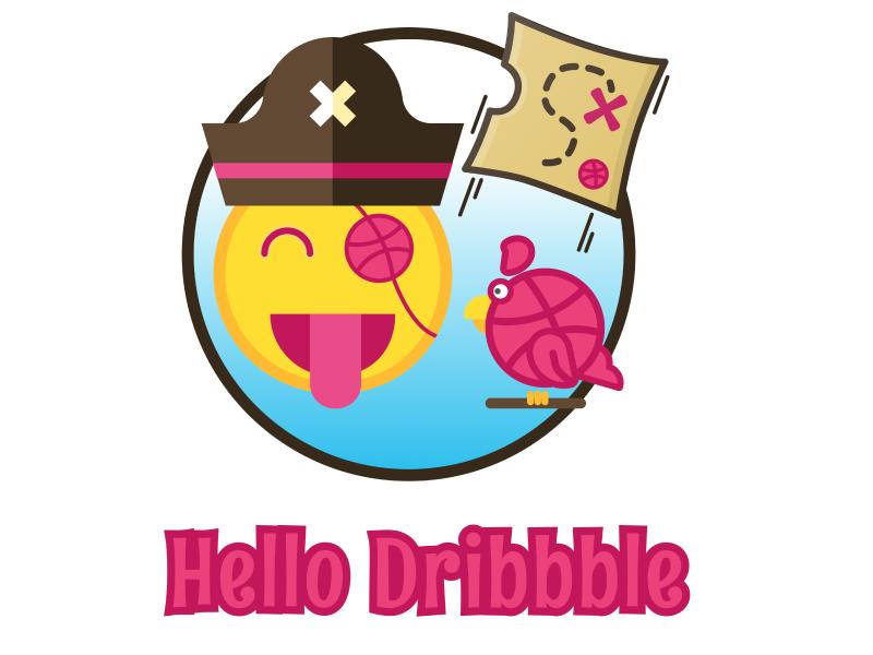 Hello Dribbble! Arrr