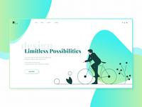 Landig Page Design