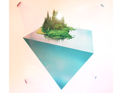 Island Dreams illustration photography digital art