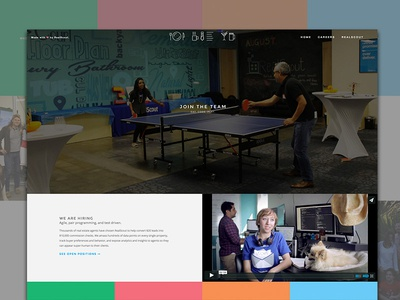New layout for the RealScout product blog. web design ui ux front-end careers