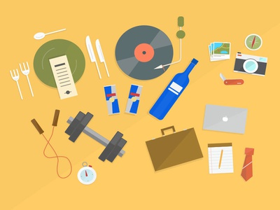 Some illustrations for the RealScout product illustration icons graphic design illustrator real estate