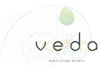 Veda Behance sacred geometry branding icon logo