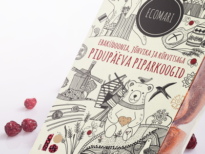 Illustration for Ecomari packaging