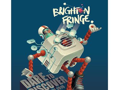 Brighton Fringe 2019 discovery mod robot space arts festival vector festival