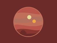Tatooine Sunset