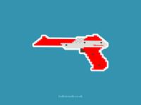 Nintendo Zapper |  Pixel Art