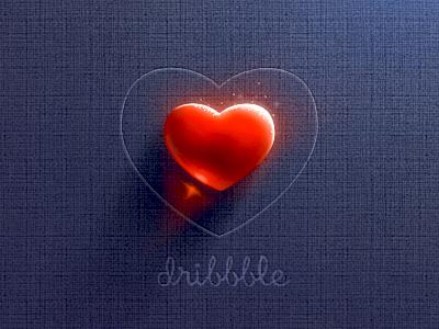Heart Dribbble