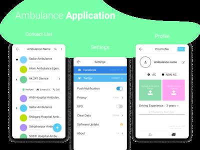 Quick Ambulance running project
