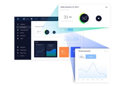 DL Statistics Web Application