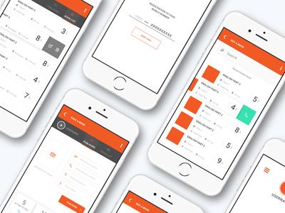 Book Order UI/UX Design Application