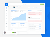 CRM Dashboard - Activity & Task Page