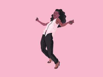 Disco dancer dance disco texture quick illustration fitness illustration fitness character illustration illustration artists illustration illustrator