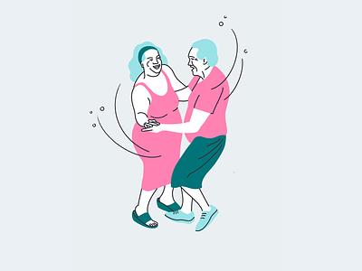 Soulmates quick illustration fitness illustration fitness character illustration illustration artists illustration illustrator