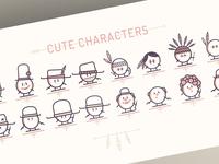 """NOUKK - Case """"Characters"""""""