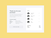 Daily UI 17 — Email Receipt