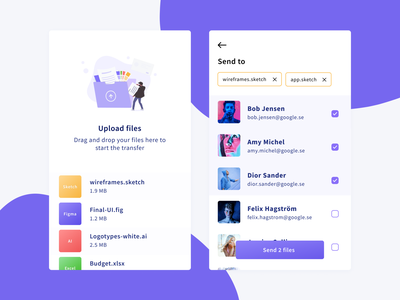 Daily UI 31 — File Upload send files upload file 031 colorful web illustration branding vector ux design pricing daily ui challenge ui dailyui