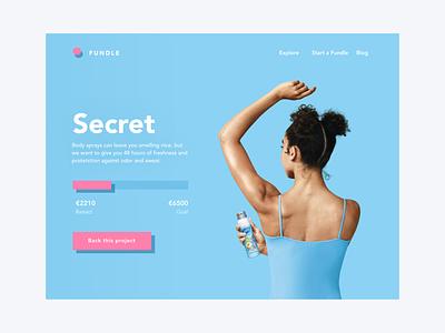 Daily UI 32 — Crowdfunding Campaign crowfunding colorful typography logo web desktop daily ui challenge branding ux design ui dailyui