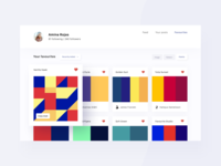 Daily UI 44 — Favorites